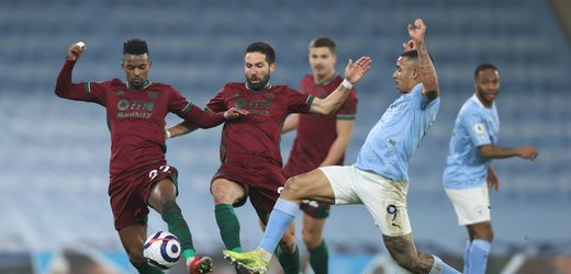 Premier League: Manchester City muss gegen die Wolves doch tatsächlich zittern