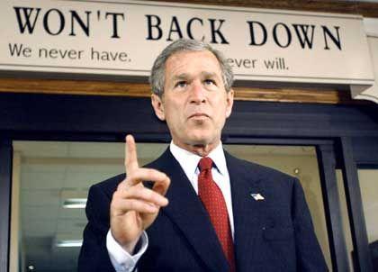 US-Präsident Bush: US-Militärs müssen in kürzester Zeit in jede dunkle Ecke der Welt