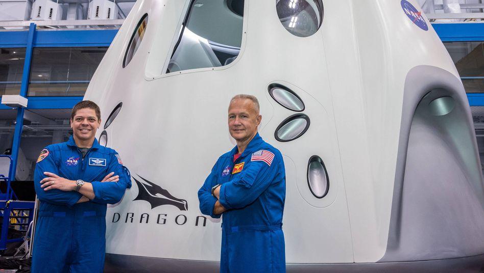 Astronauten Behnken, Hurley: Endlich Science-Fiction-Niveau