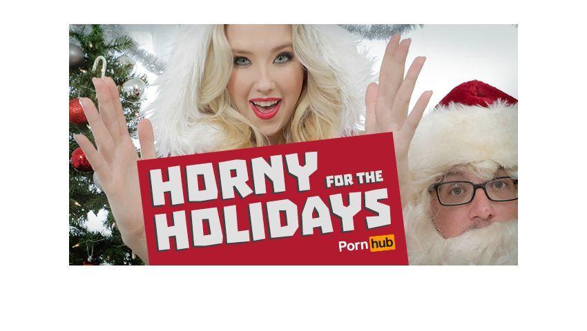 Bild aus Pornhubs Insights-Blog: Daten zum Pornokonsum rund um Weihnachten