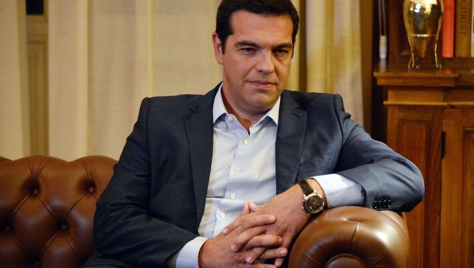 Syriza-Chef Alexis Tsipras: Mehrheit doch nicht so sicher?