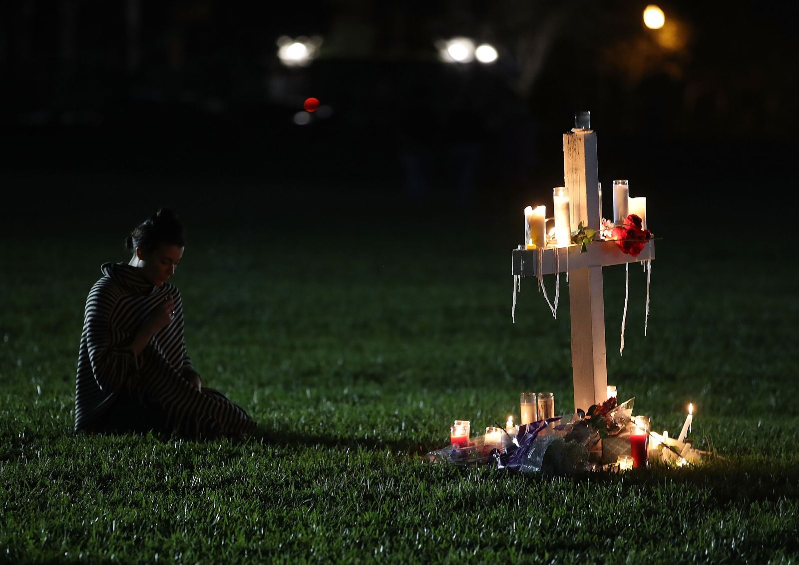 US-FLORIDA-TOWN-OF-PARKLAND-IN-MOURNING,-AFTER-SHOOTING-AT-MARJO