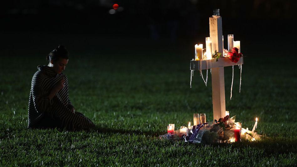 Gedenken an die Opfer des Attentats