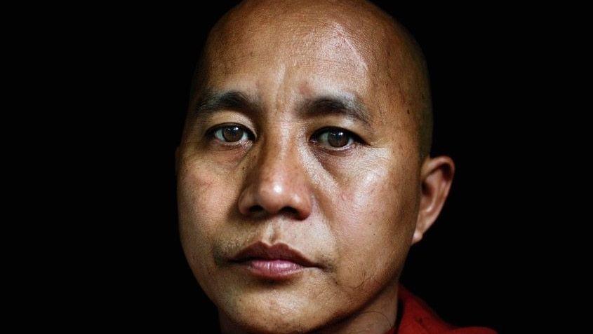 Burmesischer Mönch Ashin Wirathu