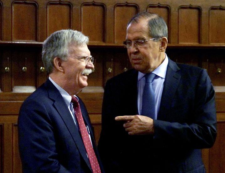 John Bolton, Sergei Lawrow