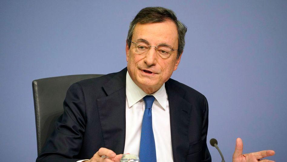 """Scheidender EZB-Chef Draghi: """"Geschenkt ist geschenkt"""""""