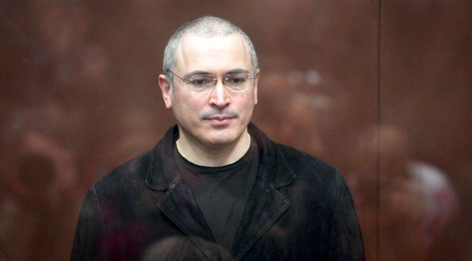 Regimekritiker Michail Chodorkowski: zu 14 Jahren Haft verurteilt