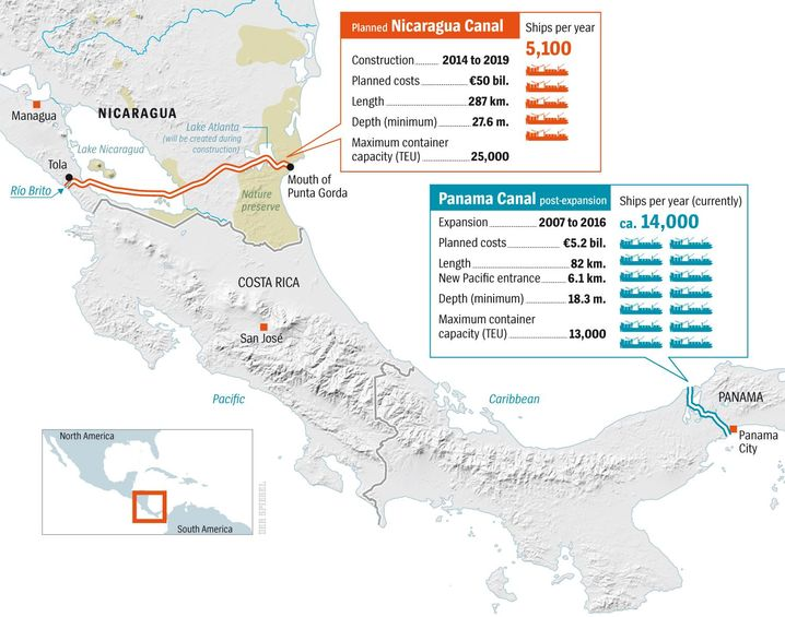 Graphic: A New Canal for Central America