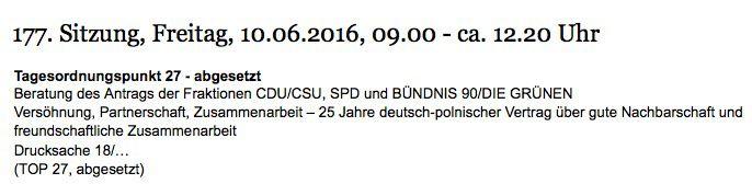 Screenshot bundestag.de
