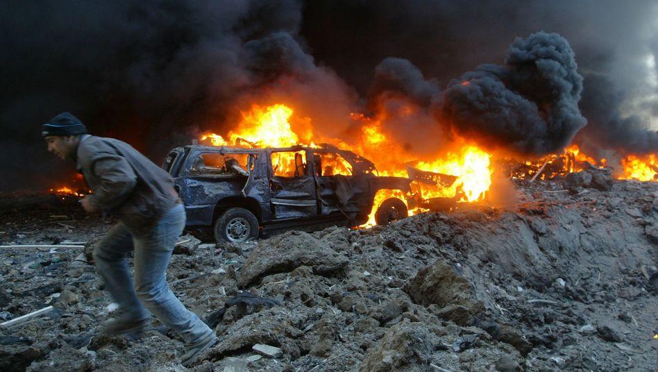Attentat auf Hariri im Februar 2005: Im kommenden Jahr soll der Prozess beginnen