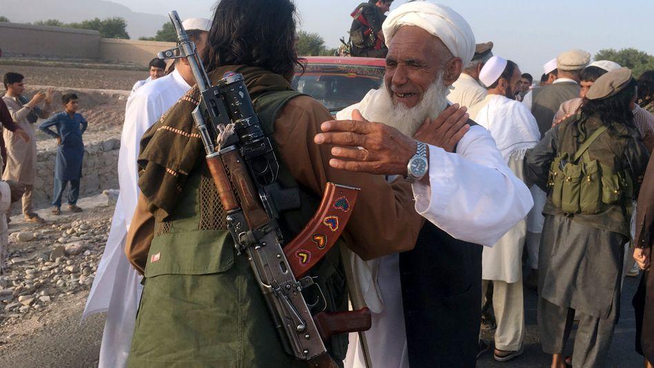 Taliban-Mitglieder (Archivaufnahme)