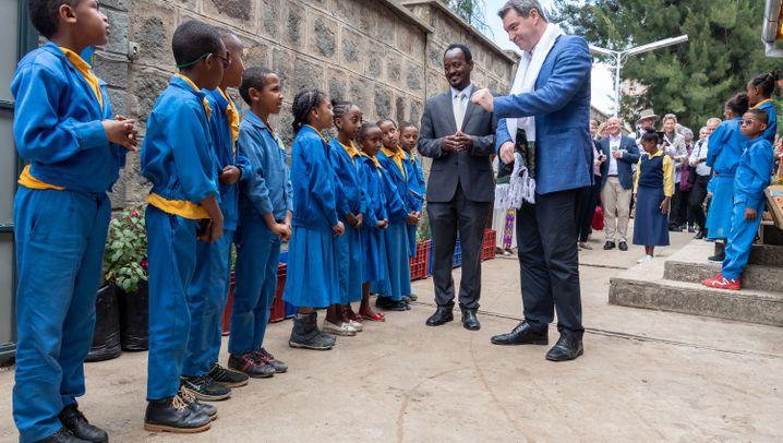 Markus Söder: Ober-Bayer in Äthiopien