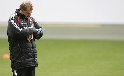 Trainer Klinsmann: An die Pflicht gemahnt