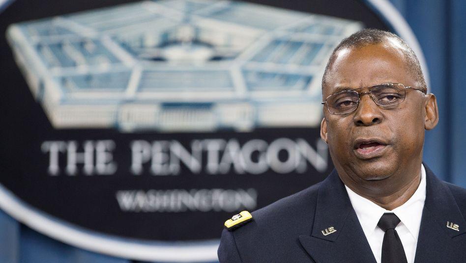 """US-General Austin: """"Präzise Luftschläge"""""""