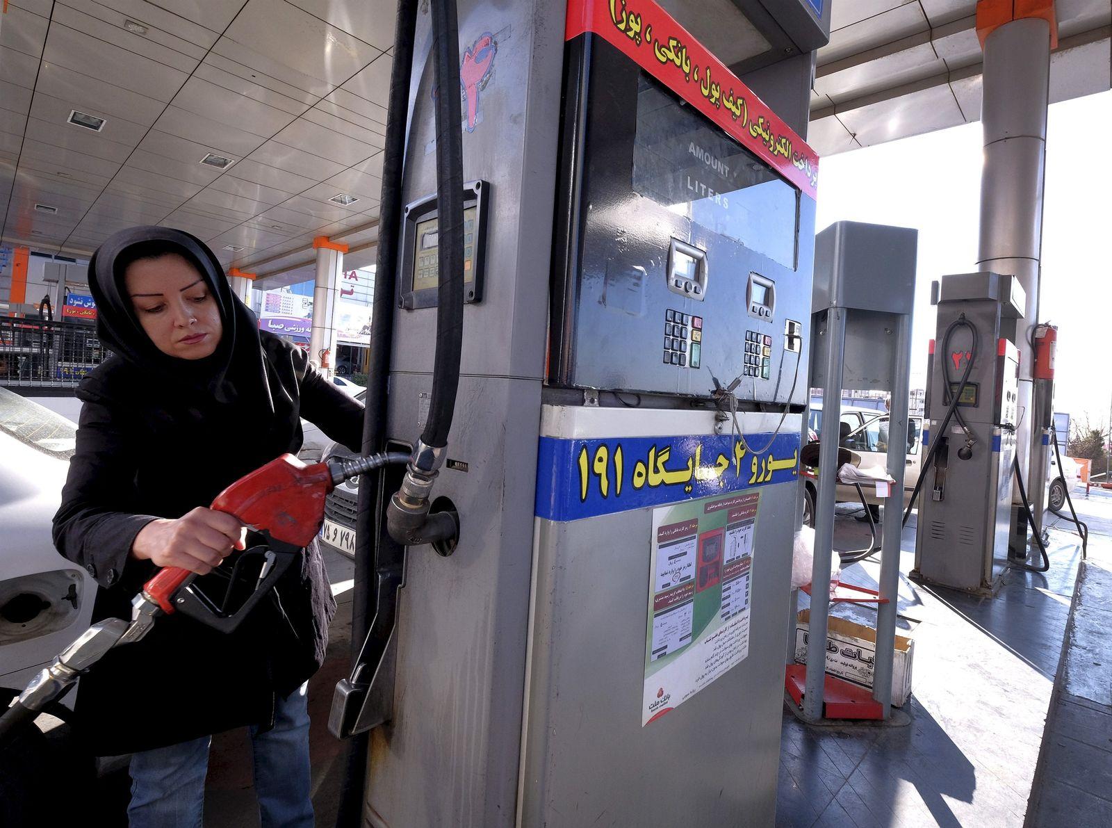 Iran Öl Tanken