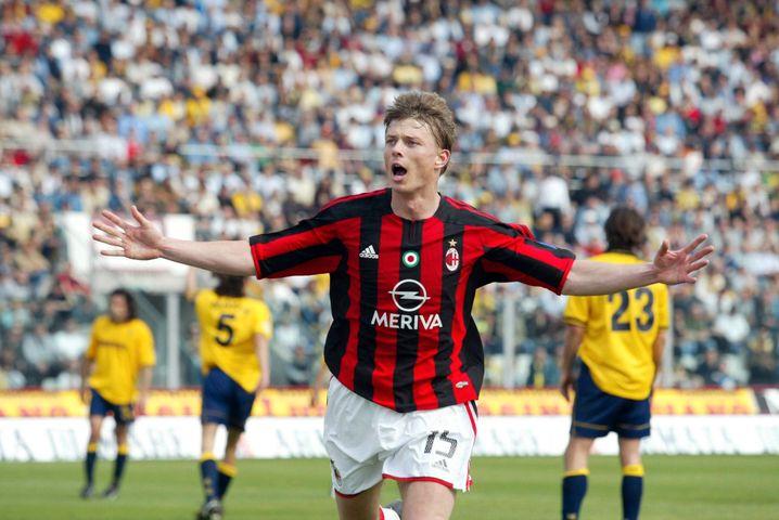 Tomasson als Milan-Torjäger