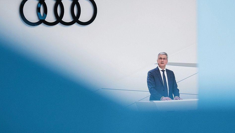 Audi-Chef Stadler: Die bisherige Verteidigungslinie wankt