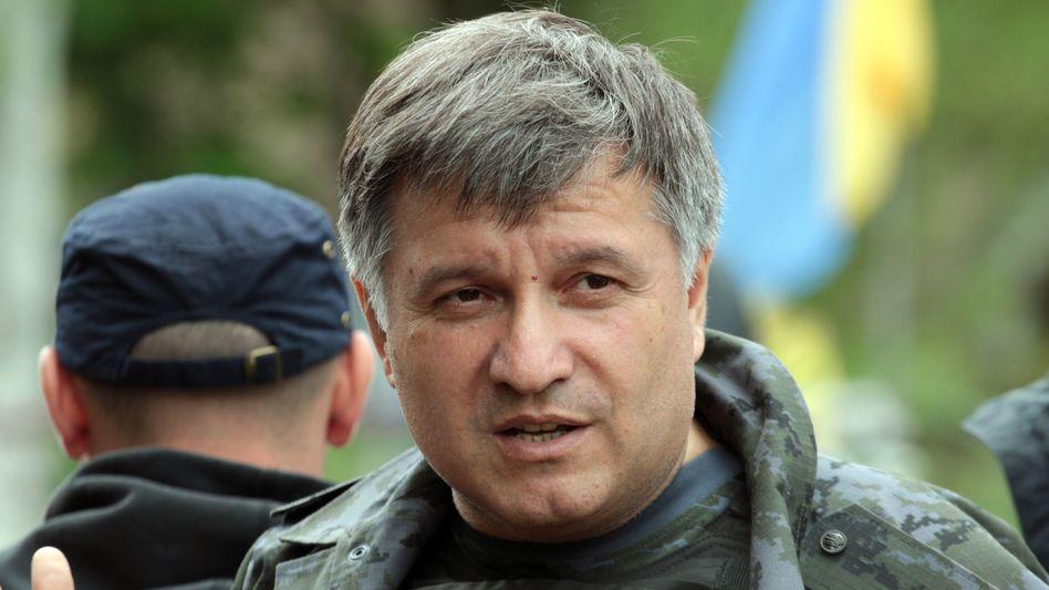 Ukrainischer Innenminister Awakow (Archivbild): Fluchtkorridore für Soldaten