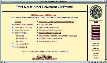 Homepage der Uni Greifswald: Zero Points