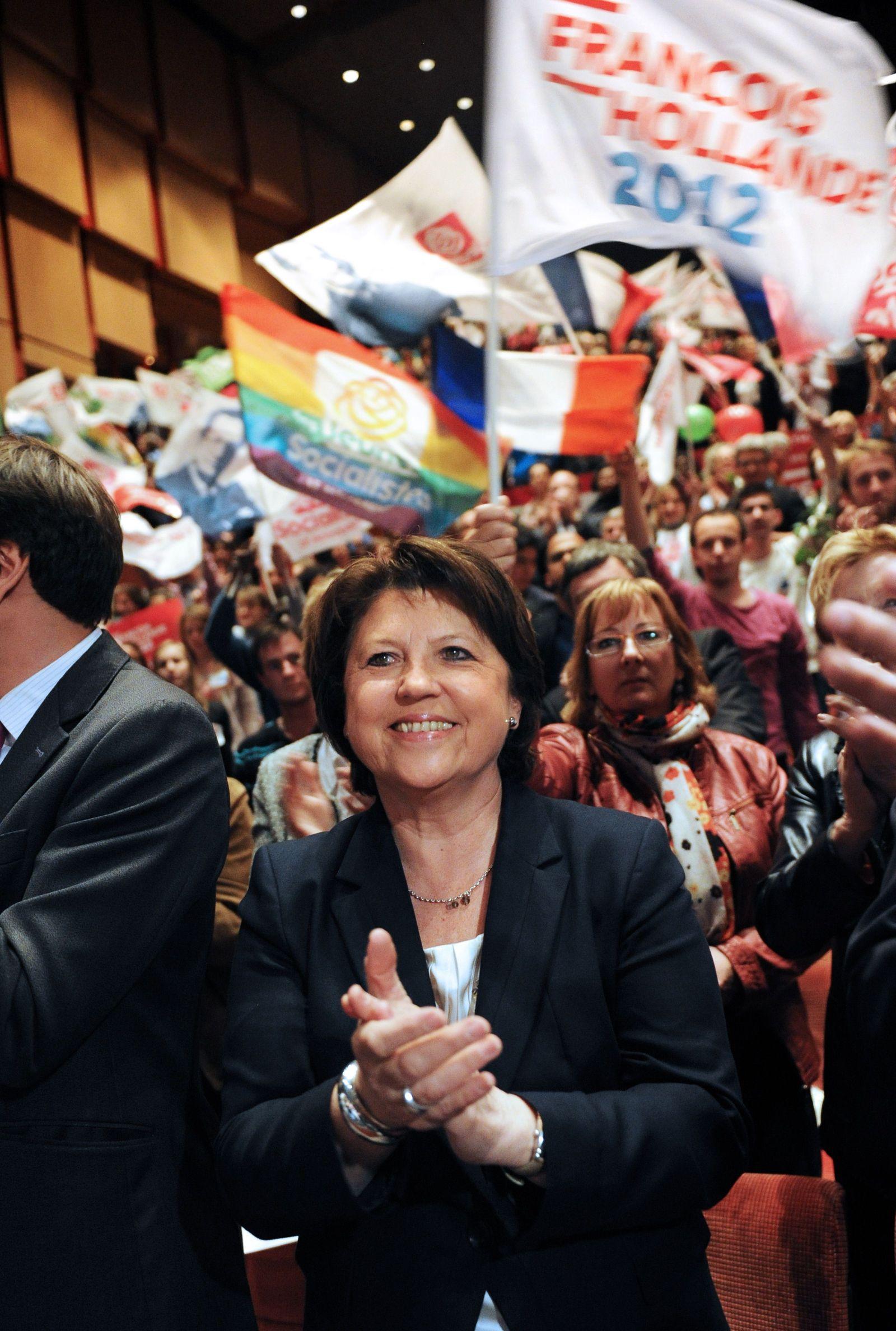 Wahlen Frankreich / Martine Aubry