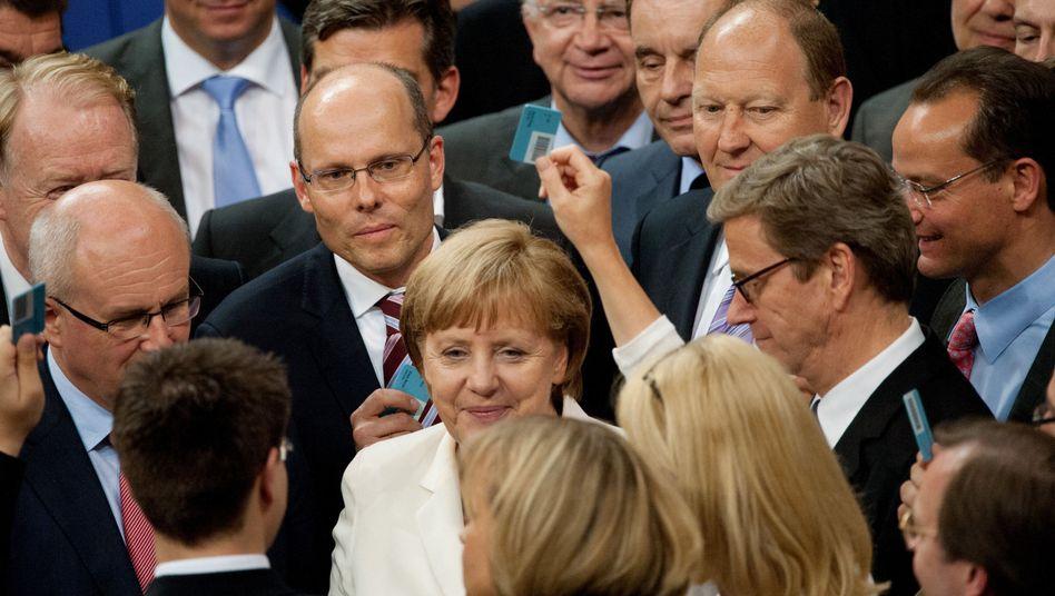 """Bundeskanzlerin Merkel im Bundestag: """"Manches muss noch geordnet werden"""""""