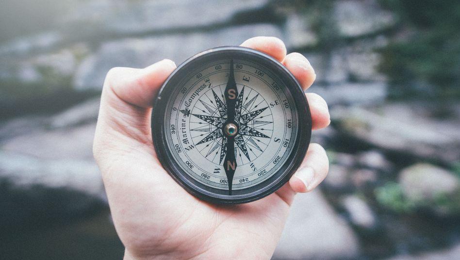 Historischer Kompass (Archivbild)