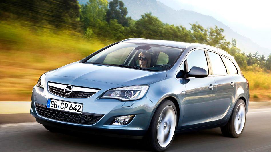 Rückruf bei Opel : Astra der Jahre 2009 bis 2011 betroffen