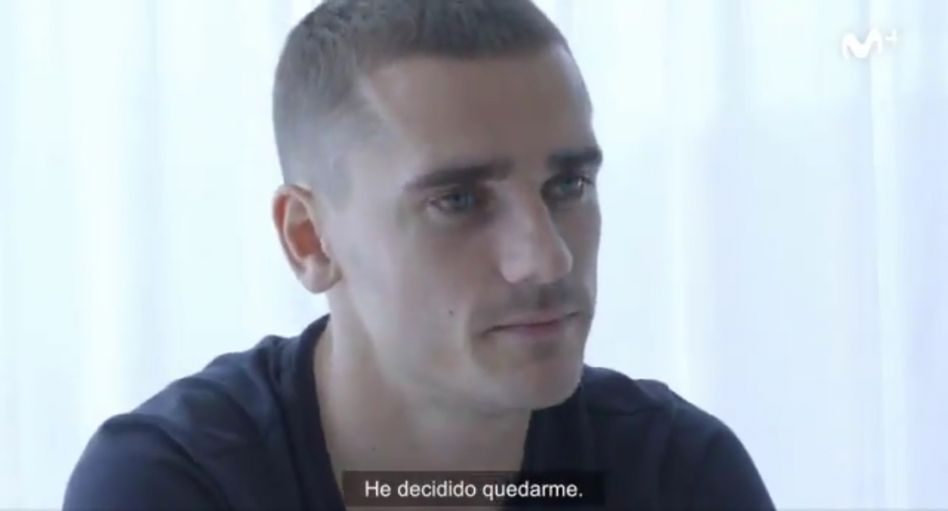 """Antoine Griezmann im Video """"La Decisión"""""""