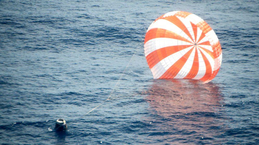 """Dragon""-Kapsel: Erfolgreiche Landung im Pazifik"