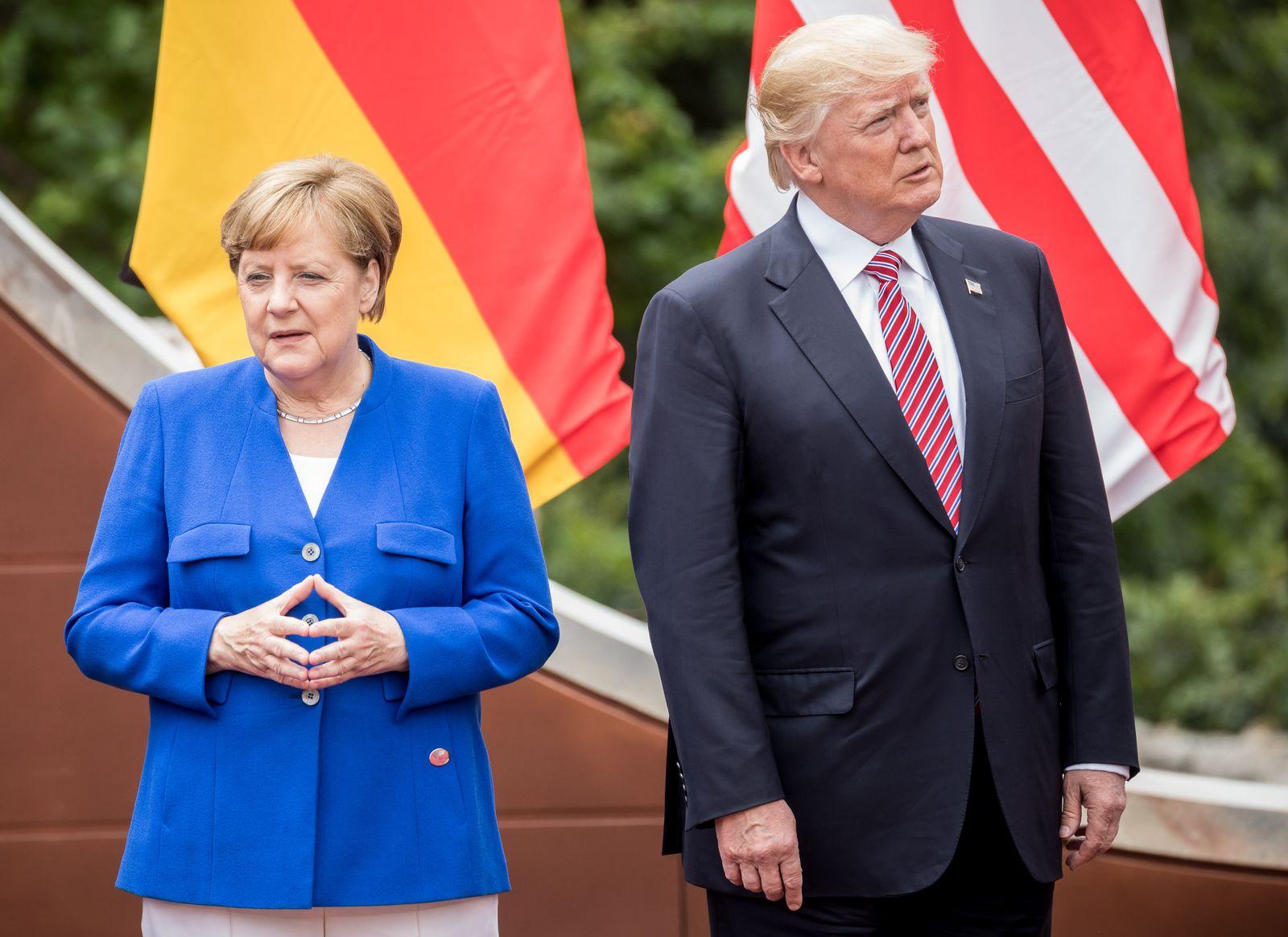 Merkel/ Trump