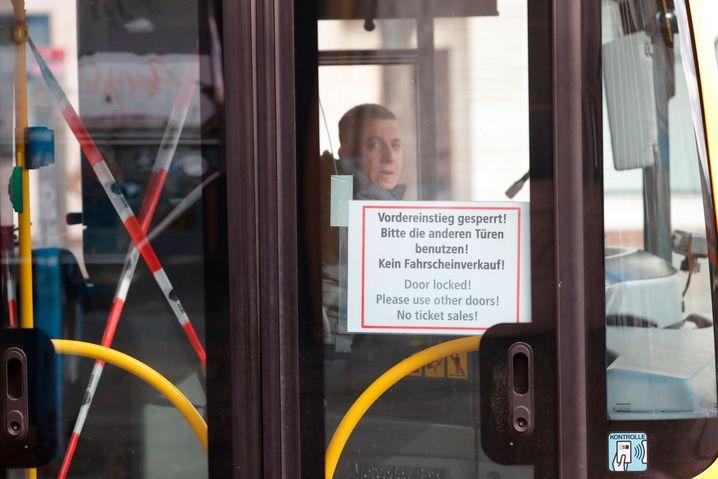 Busfahrer in Berlin
