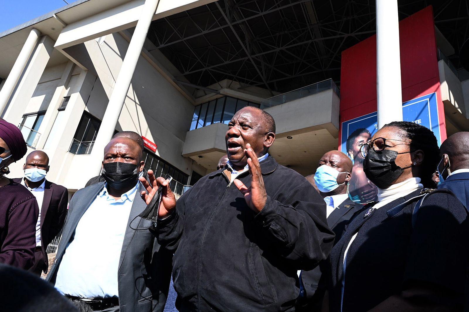 Looting President Ramaphosa