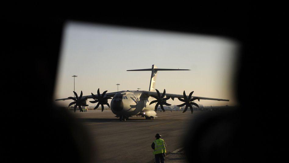 Militärtransporter A400M in Sevilla: Unsichere Zukunft