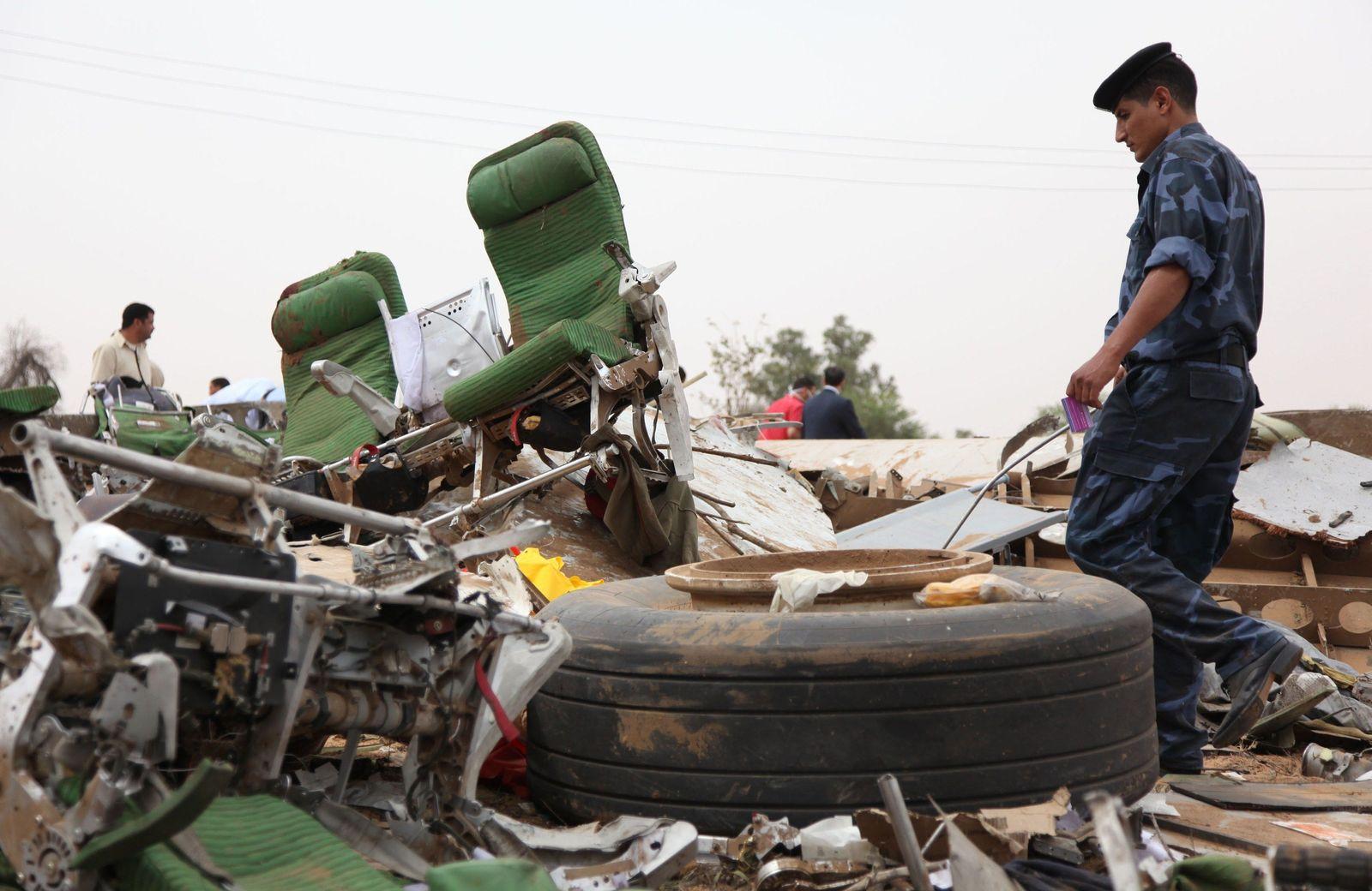 Libyen / Flugzeugabsturz