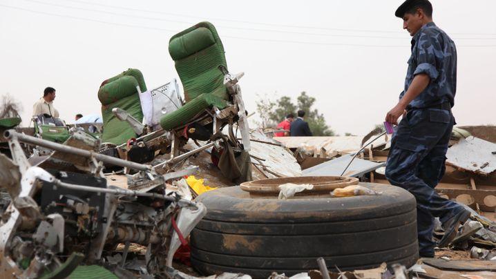 Tripolis: Flugzeugabsturz in der libyschen Hauptstadt
