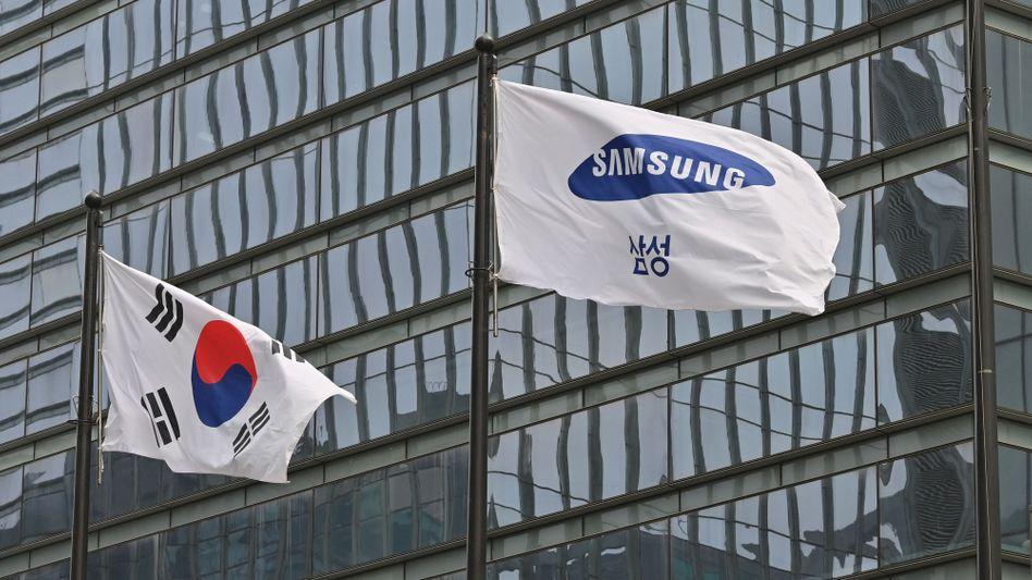 Der Staat Südkorea hat den Aufstieg von Samsung zum Weltkonzern massiv unterstützt. Nun bekommt er Milliarden aus dem Erbe des Firmenpatriarchen Lee Kun-hee