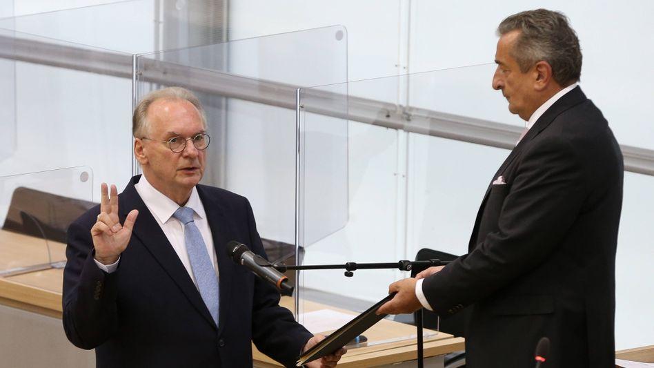 Sachsen-Anhalts Ministerpräsident Reiner Haseloff