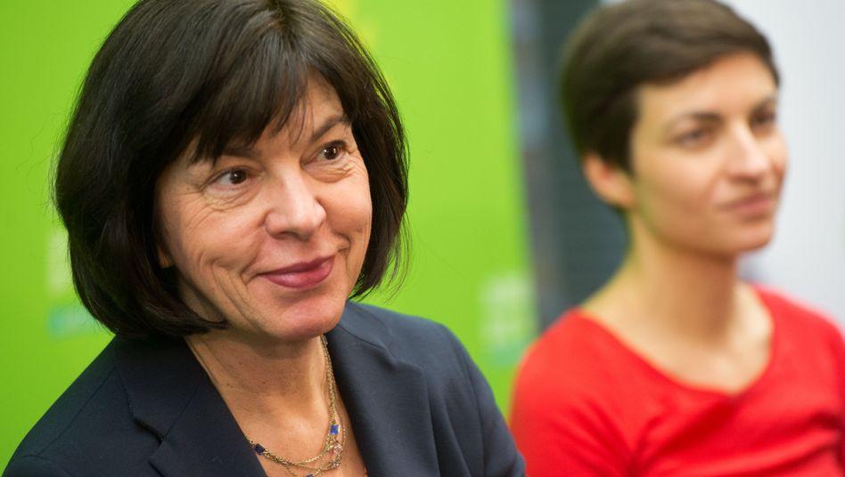 Spitzenkandidatin Harms: Setzte sich deutlich gegen Herausforderin Keller durch