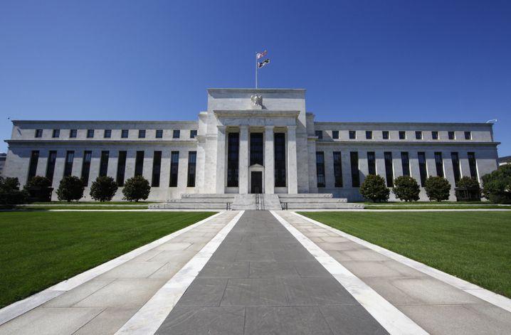 Wo die Geldmacht sitzt: Fed-Zentrale in Washington