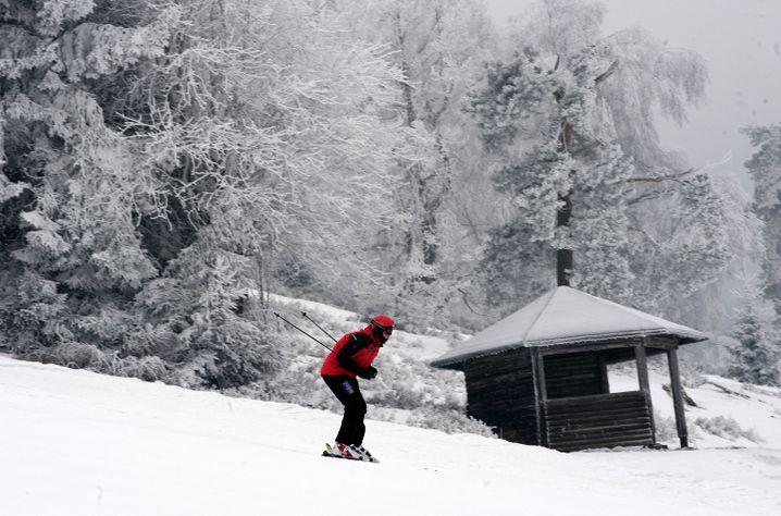 Holländische Alpen: Das Sauerland gilt vor allem als idealer Ort, Skifahren zu lernen.