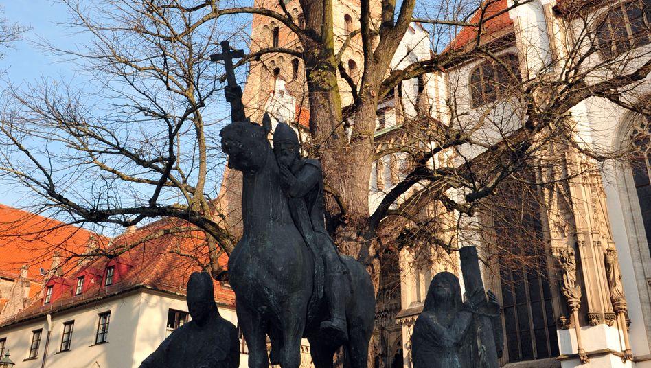 Die Bistumsheiligen Ulrich und Afravor dem Augsburger Dom