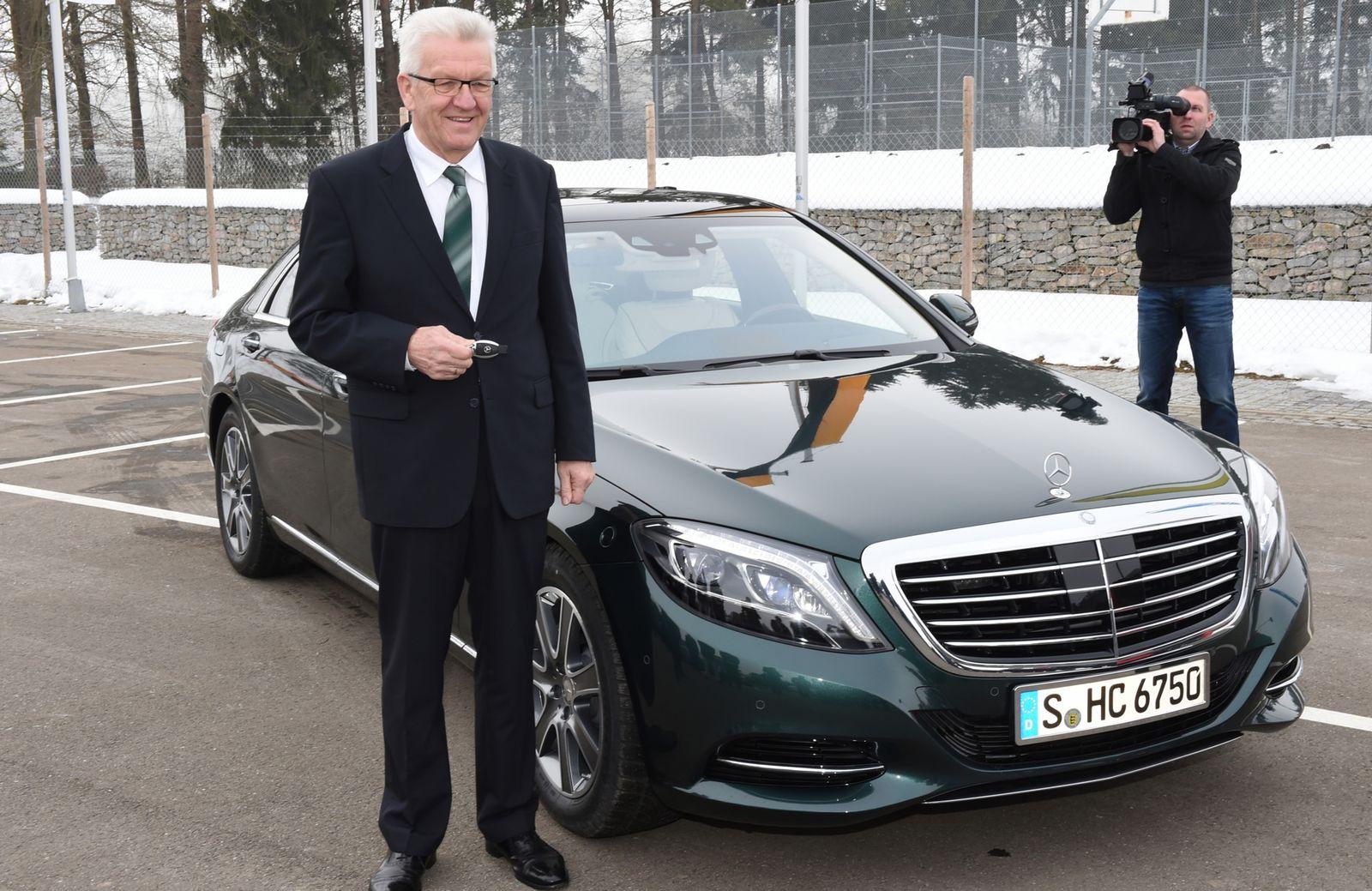 Winfried Kretschmann / Dienstwagen