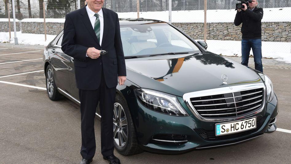 Der Dienstwagen des Ministerpräsidenten