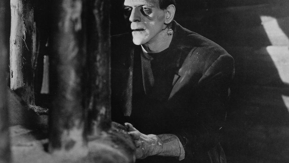 Frankensteins Monster als Filmfigur: Reflex auf Erfolge in der Stammzellforschung