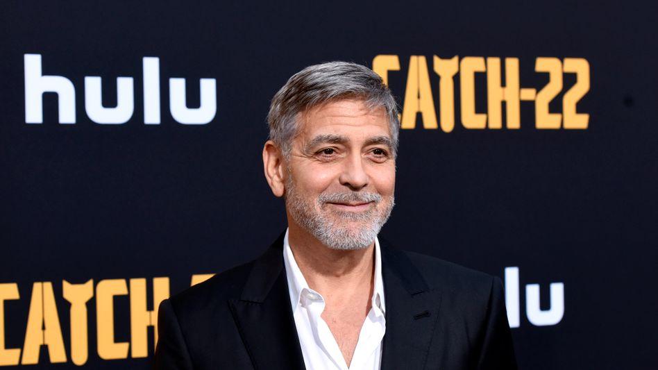 George Clooney verbringt viel Zeit in seinem Haus in Los Angeles
