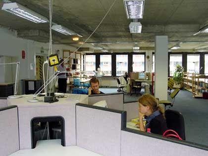 Neue Arbeitswelten: Nicht mal ein Viertel der vermieteten Gewerbeflächen sind Großraumbüros