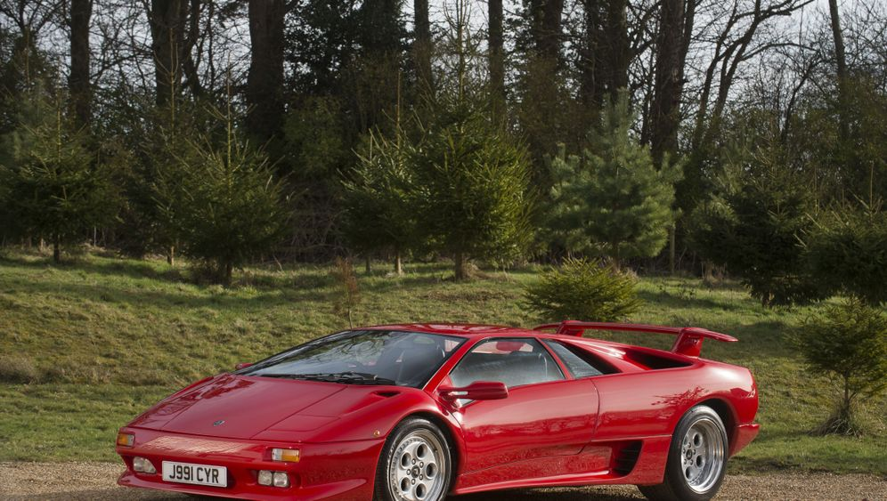Lamborghini Diablo: Rod Stewarts Geschenk an sich selbst