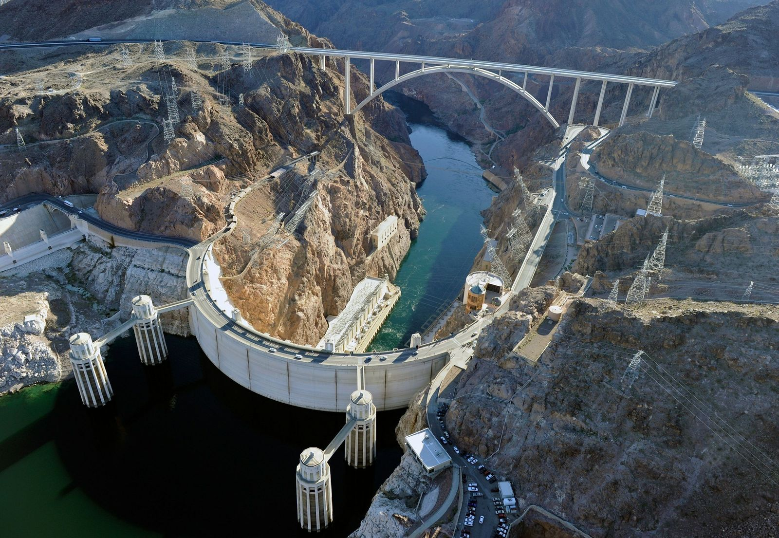 Hoover Dam / Stausee