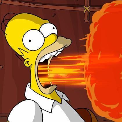 Cartoon-Vater Homer Simpson: Schadet seine Familie kleinen Venezuelanern?