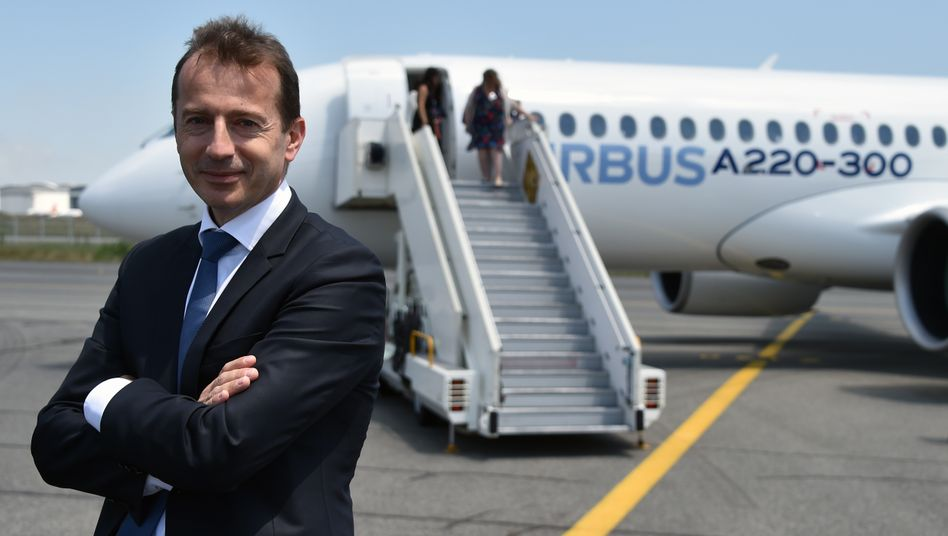 Airbus-Präsident Guillaume Faury